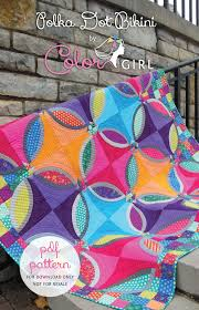 Polka Dot Bikini Quilt Pattern - Color Girl Quilts by Sharon McConnell &  Adamdwight.com