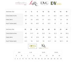 Donna Vinci Size Chart Size Chart Donna Vinci Lily And Taylor At Rapture Gold