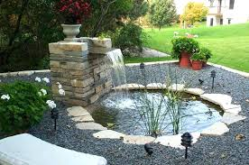 small pond waterfall ideas pumps for ponds designs indoor fish with backyard picture small pond waterfall