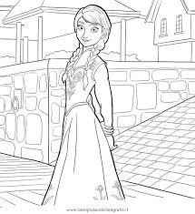 Disegno Frozen03 Personaggio Cartone Animato Da Colorare