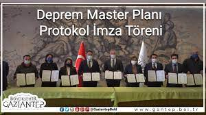 Gaziantep Deprem Master Planı Protokol İmza Töreni - YouTube