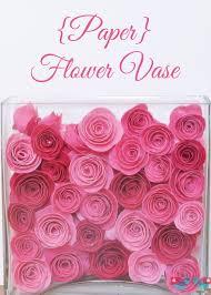 Paper Flower Base Paper Flower Vase 2 The Love Nerds