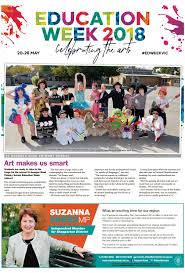 Sections and supplements are laid out just as in the print edition, but complemented by a variety of digital tools which enhance the printed newspaper's look and feel. Shepparton News Education Week 2018 By Mcpherson Media Group Issuu