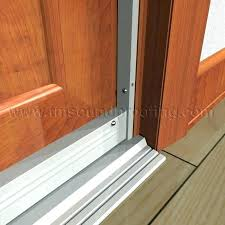 bottom of door draft guard glass shower water replace