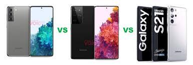 Compare Samsung Galaxy S21 5G vs Galaxy ...