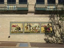 bullfighting mural on country club plaza in kansas city missouri
