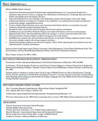 Awesome School Principal Resume Objectives Pictures Inspiration