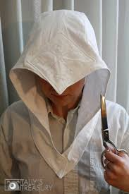 Assassins Creed Costume Pattern Awesome Assassin's Creed 48 Hood This Time It's A Full Tutorial Tally's