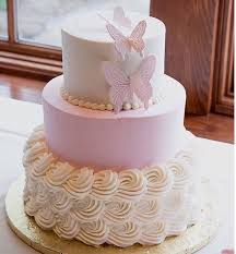 Butterfly Baby Shower Cake Darlingcakecom Ithaca Wedding Cakes