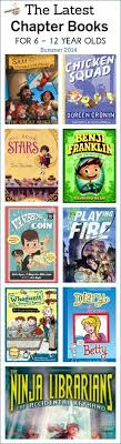 the latest chapter books for 6 to 12 year olds