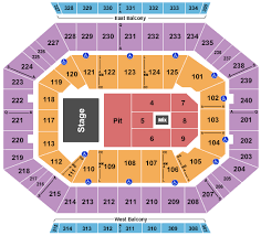 Portland Memorial Coliseum Detailed Seating Chart Buy Five Finger Death Punch Tickets Seating Charts For