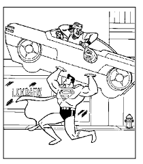 Small Picture Superman Coloring Pages Free Superman Comic Free Coloring Page