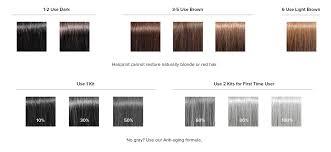 Black Hair Dye Chart Hair Print Color Chart Bedowntowndaytona Com