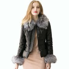 2019 2017 new women winter faux fur coat womens pu leather fur coats jacket female short fluffy warm outerwear overcoat s 3xl from shipsoon