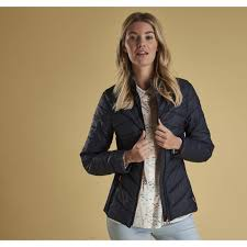 barbour longs quilted jacket