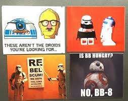 Droids Costume Clone Trooper Tied Up R2 D2 Rebel Scum Bb Hungry Star Wars Magnet