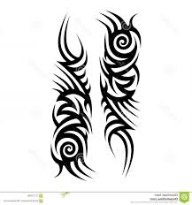 Tattoos Ideas Sleeve Designs Caeacec Tribal Tattoo Pattern Vector