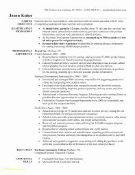 Sample Resume For Call Center Call Center Resume Objectives Beautiful 60 Call Center Resume 41