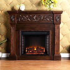 cherry wood fireplace mantels loft furnishings w espresso wood veneer fan forced electric fireplace with thermostat cherry wood fireplace mantels