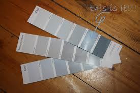 Grau Blau Wand Farbe Wohn Design