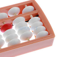Us 5 93 29 Off 13 Rods White Beads Soroban Abacus Arithmetic Number Counting Educational Toy In Math Toys From Toys Hobbies On Aliexpress