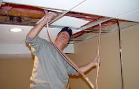 home theater wiring installing speaker wire hdmi cable drop ceilings make it easy to hide home theater cables wiring