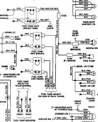 ford f wire diagram dual tank plug wire wire colors