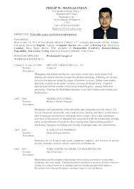 Sample Resume Format Medical Representative For Experienced New ...
