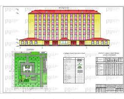 Скачать бесплатно дипломный проект ПГС Диплом № Пожарное  1 Фасад генплан jpg