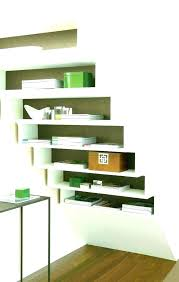 wall shelving units ikea wall shelving units stair step shelves classy under stairs shelving unit stair