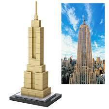 famous architecture in the world. Loz World Famous Architecture USA Empire State Building Mini 3D Model Blocks DIY Assembly Bricks In The N