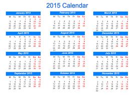 Template Monthly Calendar 2015 2015 Calendar Templates Images