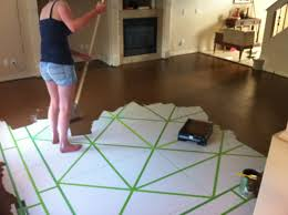Painted plywood floors Paint Picture Of Paint Instructables Painted Plywood Floors Steps with Pictures