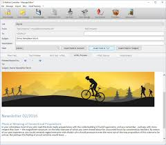 Newsletter In Word How To Create And Edit An Email Newsletter Message With Ms Word