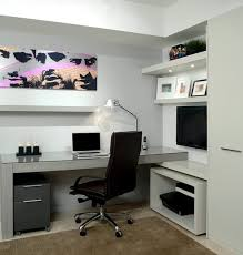 contemporary home office furniture tv. Easy Ways To Organize Your Cluttered Home Office_3 Contemporary Office Furniture Tv
