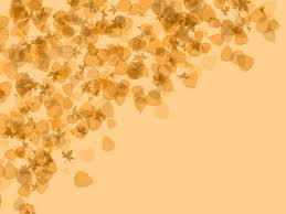 Autumn Leaves Yellow Backgrounds For Powerpoint Flower Ppt Templates