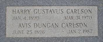 Avis Dungan Carlson (1896-1987) - Find A Grave Memorial