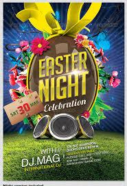 16 Free Easter Flyer Psd Templates Images Easter Egg Hunt