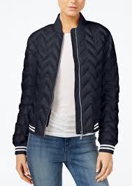armani exchange quilted er jacket