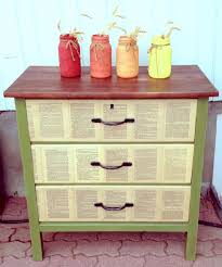 decoupage ideas for furniture. DIY DECOUPAGE IDEAS: Transform An Old End Table Into Fabulous Furniture With Some #modpodge Decoupage Ideas For O