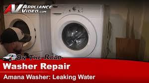 amana tandem 7300 washer. Modren Tandem Washer Repair U0026 Diagnostic  Leaking Water Amana Whirlpool NFW7300WW  YouTube And Tandem 7300 N