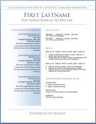 Free Resume Sample Templates Download 46 Best Of Formal Resume