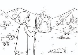 Small Picture Birth of Moses and the burning bush Bible App for Kids Story A