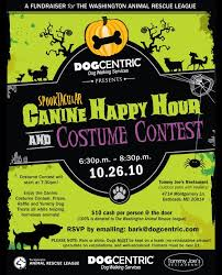 Flyer For Halloween Spooktacular Canine Happy Hour Costume