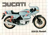 ducati manuals and other technical info 500sl pantah spare parts catalog