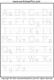 abc tracing sheet letter tracing a z free printable worksheets worksheetfun