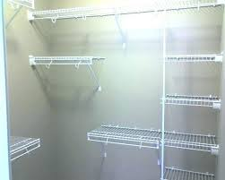 full size of rubbermaid closet kit installation configurations canada helper wire shelving image of bathrooms astounding