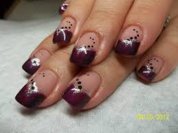 Gel Nails Designs Ideas purple and blue nail designs purple gel nail design