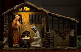 christmas stable. Contemporary Christmas Christmas Nativity Lighted Stable For 14u0026quot Set Inside C