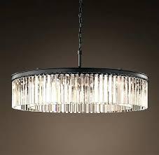 round glass chandelier clear glass prism round chandelier grey iron restoration hardware clear glass chandelier modern